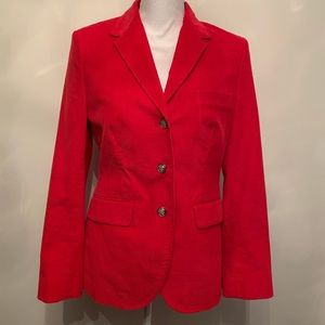 Brooks Brothers red Corduroy Jacket size 10